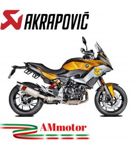 Akrapovic Bmw F 900 XR Terminale Di Scarico Slip-On Line Titanio Moto Omologato