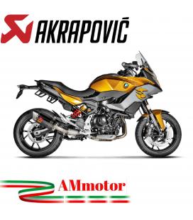Akrapovic Bmw F 900 XR Terminale Di Scarico Slip-On Line Titanio Moto Racing