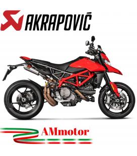 Akrapovic Ducati Hypermotard 950 / 950 SP Terminali Di Scarico Slip-On Line Titanio Moto