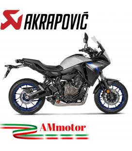 Akrapovic Yamaha Tracer 700 2020 Impianto Di Scarico Completo Racing Line Terminale Titanio Moto