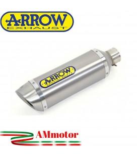 Terminale Di Scarico Arrow Ktm Duke 390 17 - 2020 Slip-On Thunder Alluminio Moto