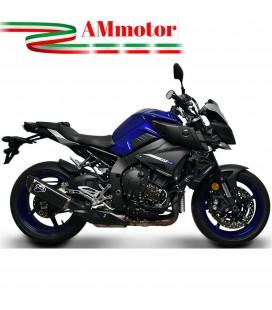 Terminale Di Scarico Termignoni Yamaha Mt-10 Marmitta Force Carbonio Moto Omologato