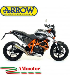 Terminale Di Scarico Arrow Ktm Duke 690 12 - 2015 Slip-On X-Kone Nichrom Moto