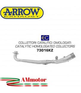 Kymco AK 550 17 - 2020 Arrow Moto Collettori Di Scarico Catalitici Omologato