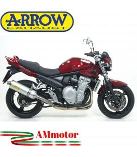 Terminale Di Scarico Arrow Suzuki Gsf 650 Bandit 07 - 2013 Slip-On Race-Tech Alluminio Moto