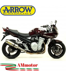 Terminale Di Scarico Arrow Suzuki Gsf 1250 Bandit 07 - 2016 Slip-On Race-Tech Alluminio Moto
