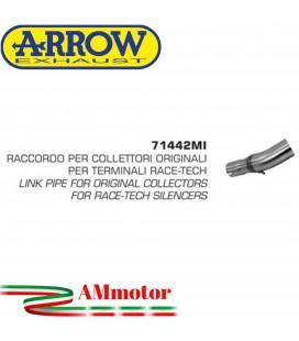 Raccordo Suzuki Gsr 750 11 - 2016 Arrow Moto Per Terminali Race-Tech Per Collettori Originali