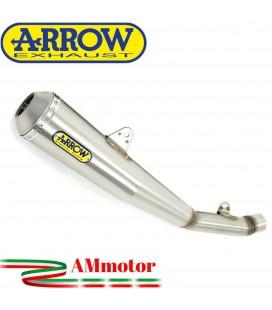 Terminale Di Scarico Arrow Suzuki Gsx-R 750 06 - 2007 Slip-On Pro-Racing Nichrom Moto
