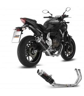 Scarico Completo Mivv Yamaha MT-07 Terminale Gp Black Moto Alto