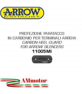Protezione Paracalore Arrow Suzuki Gsx-S 125 17 - 2020 Moto Paratacco In Carbonio