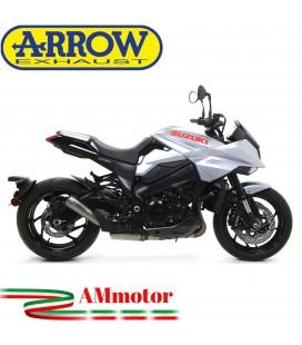 Terminale Di Scarico Arrow Suzuki Katana 1000 19 - 2020 Slip-On Pro-Race Titanio Moto