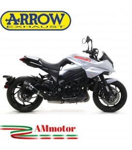 Terminale Di Scarico Arrow Suzuki Katana 1000 19 - 2020 Slip-On X-Kone Short Dark Moto