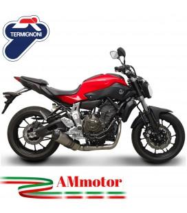 Scarico Completo Termignoni Yamaha Mt-07 Terminale Relevance Titanio Moto