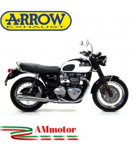 Terminali Di Scarico Arrow Triumph Bonneville T120 16 - 2019 2 Slip-On Pro-Racing Nichrom Moto