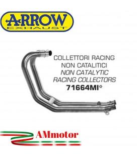 Triumph Speed Twin 1200 19 - 2020 Arrow Moto Collettori Di Scarico Non Catalitici