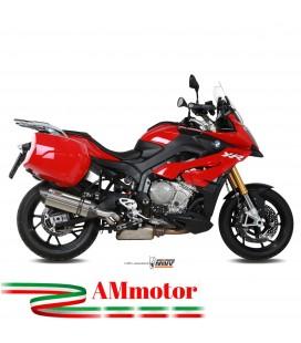 Mivv Bmw S 1000 XR 15 - 2019 Terminale Di Scarico Moto Marmitta Suono Inox Omologato