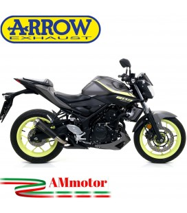 Terminale Di Scarico Arrow Yamaha MT-03 18 - 2019 Slip-On Pro-Race Nichrom Dark Moto