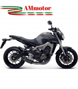 Scarico Completo Termignoni Yamaha Mt-09 Terminale Relevance Carbonio Moto