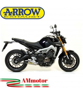 Terminale Di Scarico Arrow Yamaha MT-09 13 - 2020 Slip-On X-Kone Moto