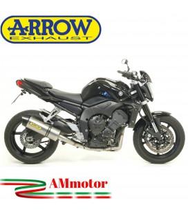 Terminale Di Scarico Arrow Yamaha Fz1 / Fz1 Fazer 06 - 2016 Slip-On Maxi Race-Tech Titanio Moto Fondello Carbonio