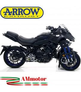 Terminale Di Scarico Arrow Yamaha Niken 850 18 - 2020 Slip-On Thunder Alluminio Moto