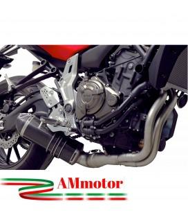Scarico Completo Termignoni Yamaha Mt-07 Terminale Relevance Carbonio Moto