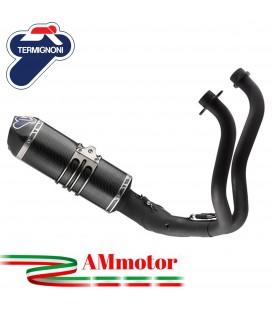 Scarico Completo Termignoni Yamaha Xsr 700 Terminale Relevance Full Black Edition Moto
