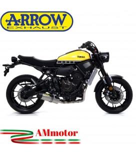 Terminale Di Scarico Arrow Yamaha Xsr 700 16 - 2020 Slip-On Jet-Race Titanio Moto