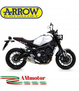 Terminale Di Scarico Arrow Yamaha Xsr 900 16 - 2020 Slip-On Jet-Race Titanio Moto