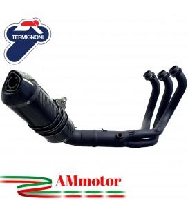 Scarico Completo Termignoni Yamaha Xsr 900 Terminale Relevance Full Black Edition Moto