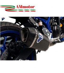 Terminale Di Scarico Termignoni Yamaha Mt-03 Marmitta Force Carbonio Moto Racing