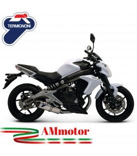 Scarico Completo Termignoni Kawasaki Er-6N Terminale Relevance Inox Moto Omologato