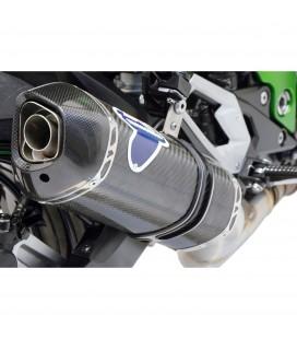 Terminale Di Scarico Termignoni Kawasaki Z 800 Marmitta Relevance Carbonio Moto Omologato