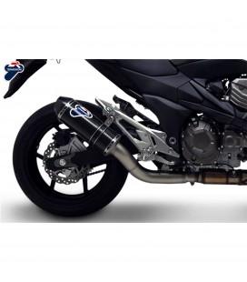 Terminale Di Scarico Termignoni Kawasaki Z 800 E Marmitta Relevance Carbonio Moto Omologato