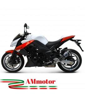 Terminali Di Scarico Termignoni Kawasaki Z 1000 Marmitte Conico Carbonio Moto Omologato