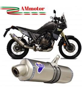 Termignoni Yamaha Tenere 700 Terminale Moto Scarico In Titanio Omologato