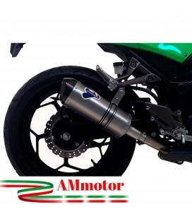 Terminale Di Scarico Termignoni Kawasaki Ninja 300 R Marmitta Relevance Inox Moto Racing