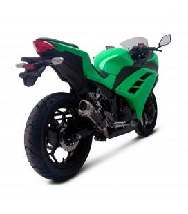 Terminale Di Scarico Termignoni Kawasaki Ninja 300 R Marmitta Relevance Carbonio Moto Racing