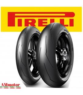 Pirelli Diablo Supercorsa SP V2 120 70 + 180 Coppia Pnaumatici Moto Gomme