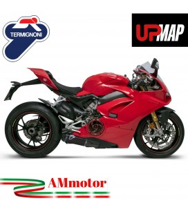 Terminali Di Scarico Termignoni Ducati Panigale V4 Silenziatori In Titanio Nero Racing
