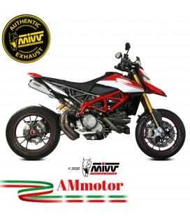 Mivv Ducati Hypermotard 950 / SP Terminali Di Scarico Per Moto 2 Slip-On X-M1 In Titanio