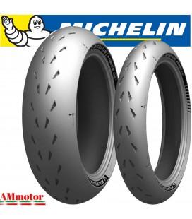 Michelin Power Cup 2 120/70 + 180/55 Coppia Pneumatici Gomme Moto