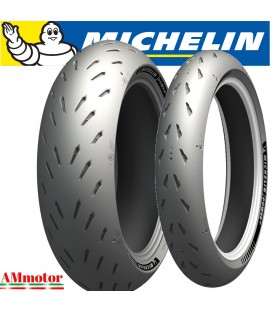 Michelin Power GP 120/70 + 180/55 Coppia Pneumatici Gomme Moto