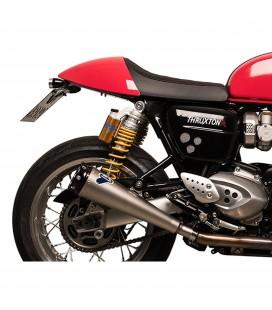 Terminali Di Scarico Termignoni Triumph Thruxton Marmitte Coniche Inox Moto Omologato
