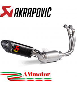 Akrapovic Aprilia Tuono 660 Impianto Di Scarico Completo Racing Line Terminale Carbonio Moto Omologato