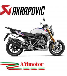 Akrapovic Bmw R 1250 R / RS Terminale Di Scarico Slip-On Line Titanio Nero Moto Omologato