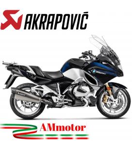 Akrapovic Bmw R 1250 RT Terminale Di Scarico Slip-On Line Titanio Moto Omologato