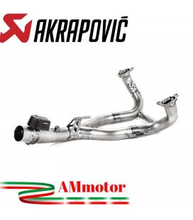 Bmw R 1250 RT Collettori Di Scarico Akrapovic Tubo Elimina Kat Inox Catalizzatore Moto