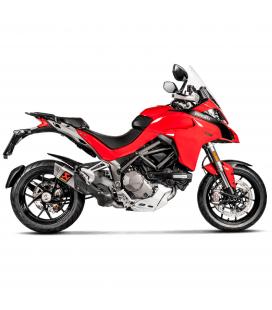 Ducati Multistrada 1200 S Collettori Di Scarico Akrapovic Tubo Elimina Catalizzatore Titanio Moto Silenziatore S-D12SO9-HAPT