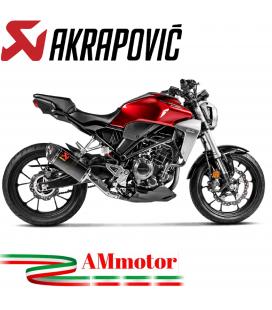 Akrapovic Honda Cb 300 R Terminale Di Scarico Slip-On Line Carbonio Moto